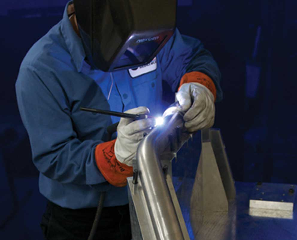 Certified Aircraft Parts Welding
