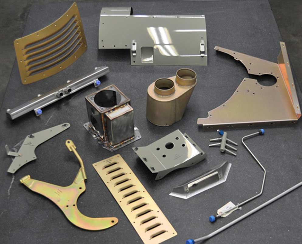Sheet Metal Fabrication For Aircraft Parts And Custom Assemblies